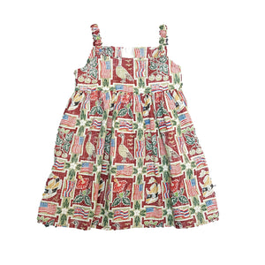 SUMMER COMMEMORATIVE 2017 / SUNDRESS •  2T TO 4T