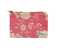 Think Pink Kupulau Pareau Zippered Cosmetic Bag