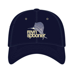 Reyn Spooner Trophy Fish Hat in NAVY