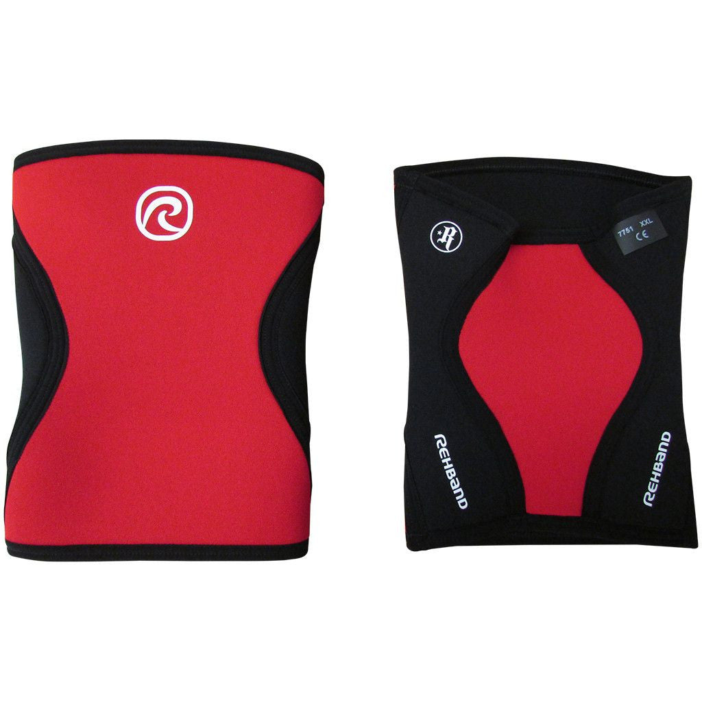 Rehband Core Line Rich Froning RX Knee Sleeve 5mm Red