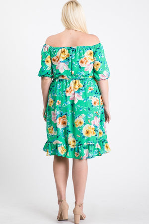Fresh Greenery Dress