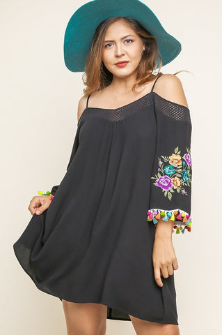 Life of The Fiesta Dress - Black