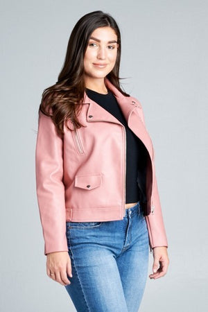 *SALE ITEM* Love Is A Rose Moto Jacket