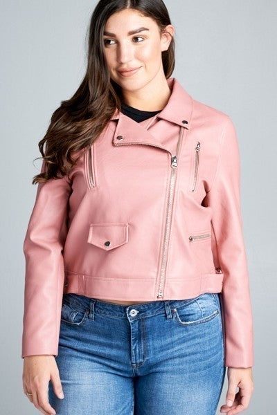 Love Is A Rose Moto Jacket