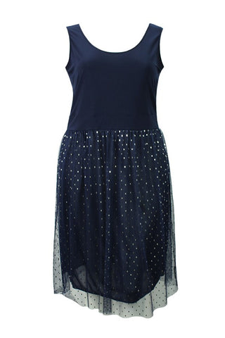 Spring Fling Dress - Navy
