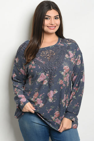 *CLEARANCE ITEM* Botanical Brunch Top