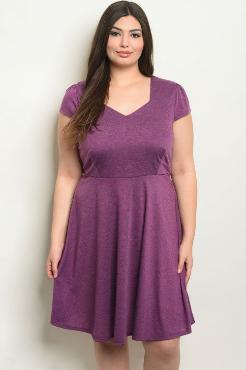 *SALE ITEM* Purple Reign Dress