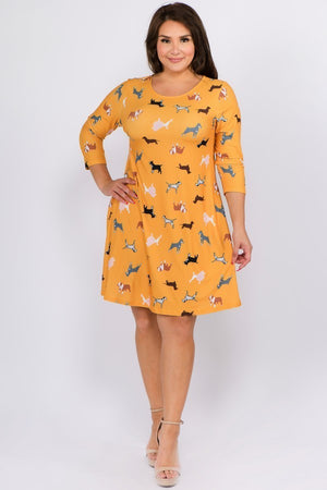 *SALE ITEM* A Walk In the Park Dress