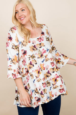 Enchanted Garden Tunic Top