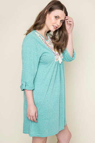Sounds of the Ocean Tunic Dress