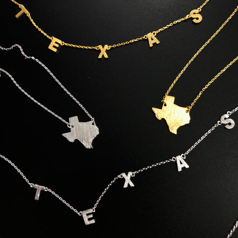 Texas Necklaces - RESTOCK!