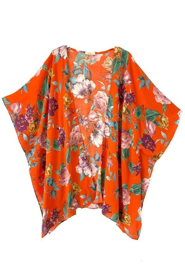 *SALE ITEM* Romance Remains Kimono - Red