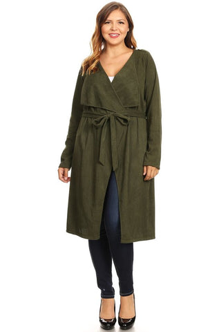 Got It Covered Cardigan - Olive