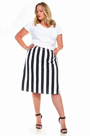*SALE ITEM* Opposites Attract Skirt