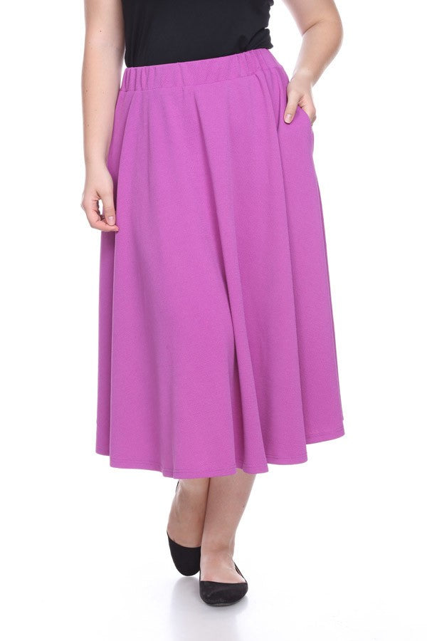 *SALE ITEM* Grape Escape Skirt