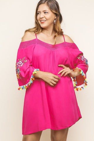 Life of the Fiesta Dress - Pink