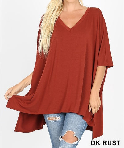 Ease Into Knit Tunic Top
