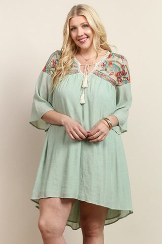 Both Sides Now Tunic Dress