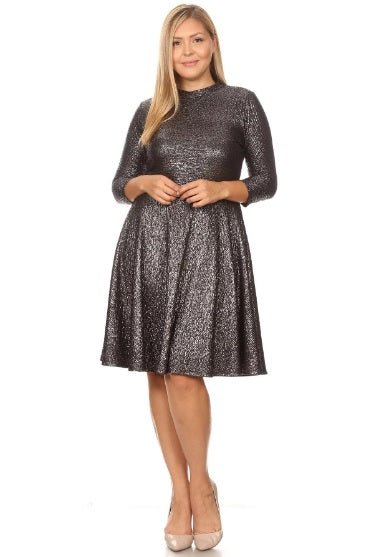 *SALE ITEM* Silver Belle Dress