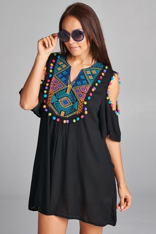 Flying Colors Tunic Dress