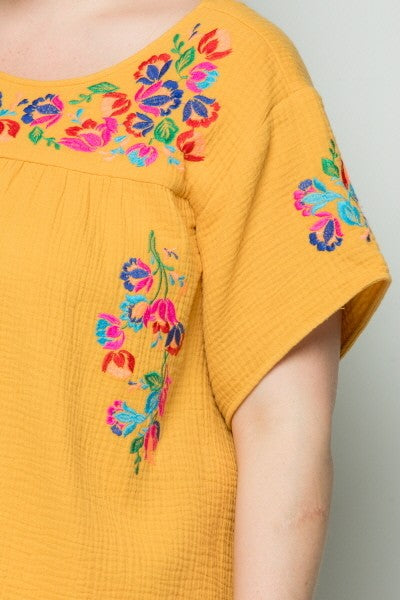 Living Fiesta Top - - Yellow