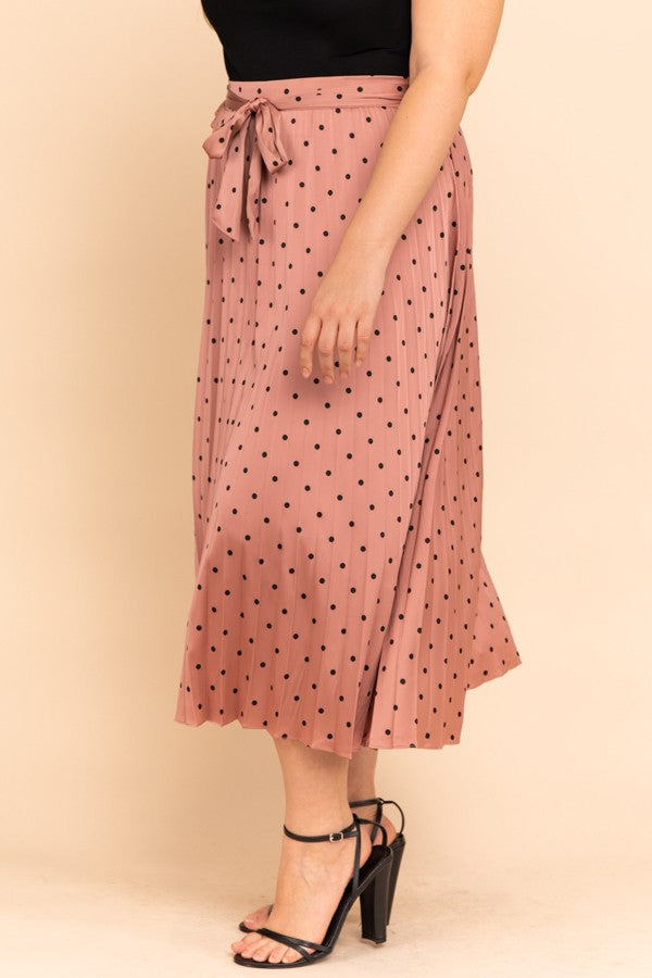Blush, Not Bashful Skirt