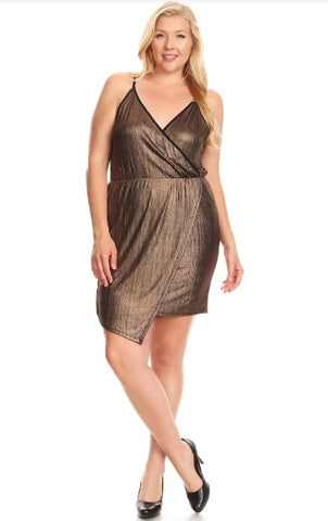 Boogie Down Bronze Dress