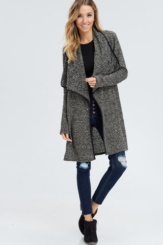 Fall For Knit Trench