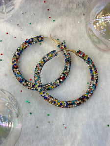 Stained Glass Hoops