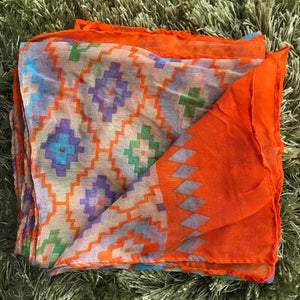 New Scarf - True to Tribe - Orange