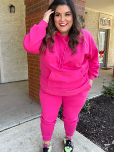 Hot (Pink) In Here Joggers