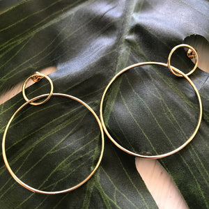 Into It Circle Earrings