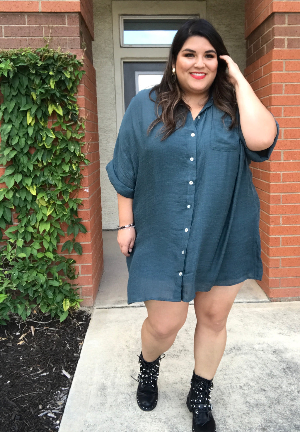 Shirt the Issue Tunic/Dress