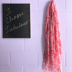 New Scarf - Tropical Punch