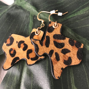 Texas in the Wild Earrings