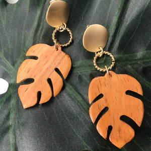 Leaf it Earrings
