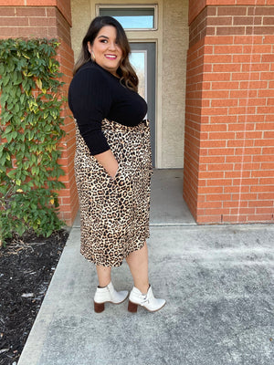 Leopard on The Loose Dress