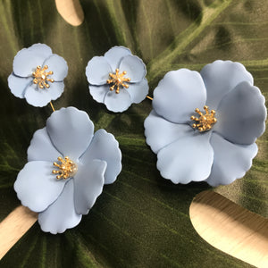 Flower Power Statement Earrings