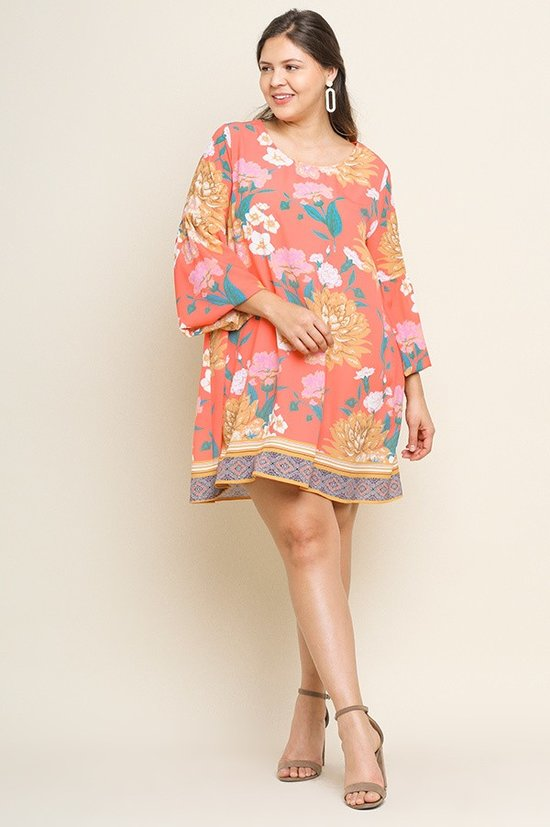 *SALE ITEM* Let's Flamingo Dress
