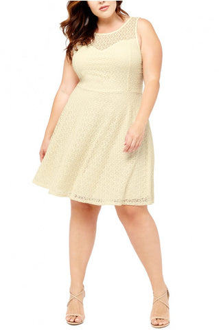 *SALE ITEM* Sassy Sweetheart Dress - Cream