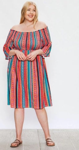 *SALE ITEM* Shores of Old Mexico Dress