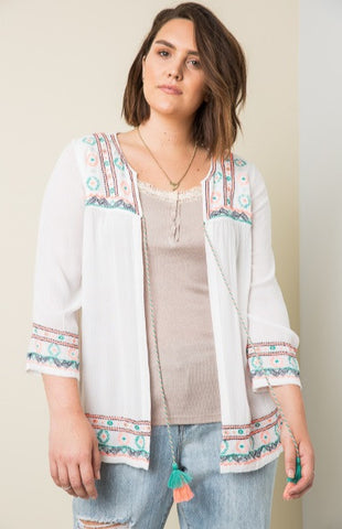 *SALE ITEM* To Top It Off Cardigan