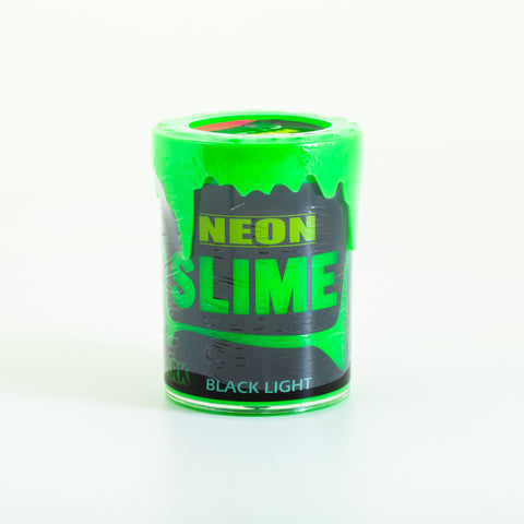 Neon Glow In The Dark Slime - Green