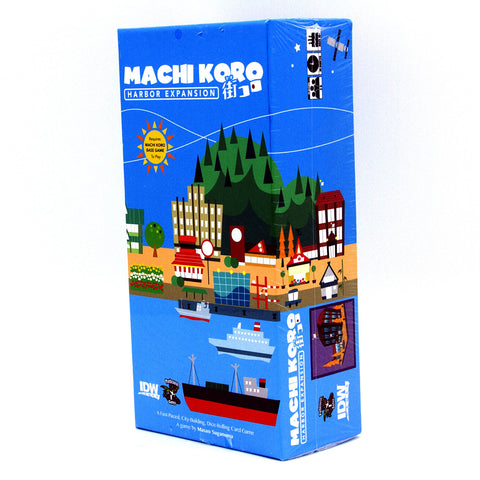 Machi Koro Harbor Expansion - It Came From Planet Earth  - 1