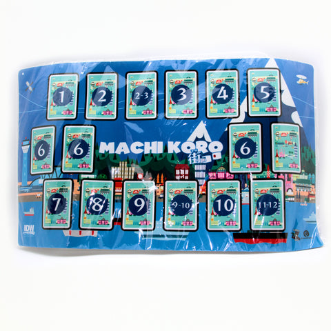 Machi Koro Game Mat - It Came From Planet Earth