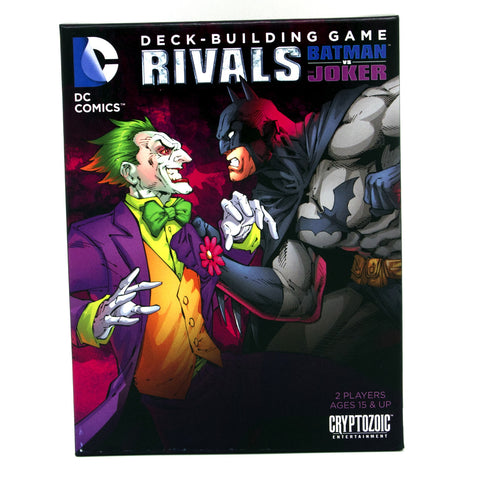 DC Comics Deck-Bulding Game: RIVALS Batman Vs The Joker - It Came From Planet Earth  - 1