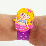 My Happy Mermaid Bracelet - Blonde with Pink Tail