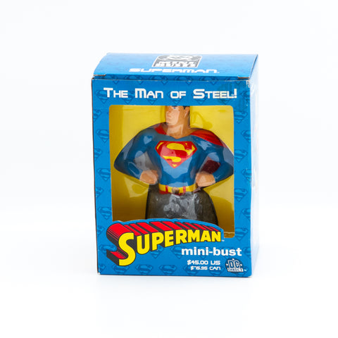Superman The Man Of Steel, Mini-bust