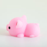 Mochi Squishy Animal - Pig, Pink
