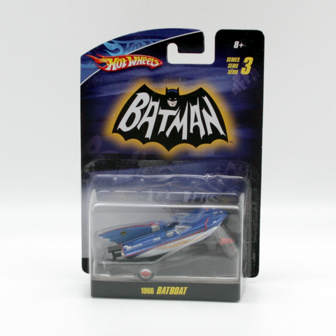Hot Wheels Batman Series 3 Batboat 1966 Vintage - It Came From Planet Earth  - 1